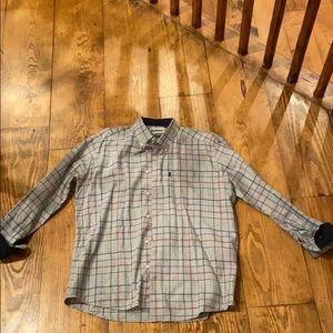 Barbour sport shirt size large